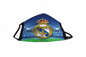Aqkua Face Mask .  Real Madrid  Stadium.