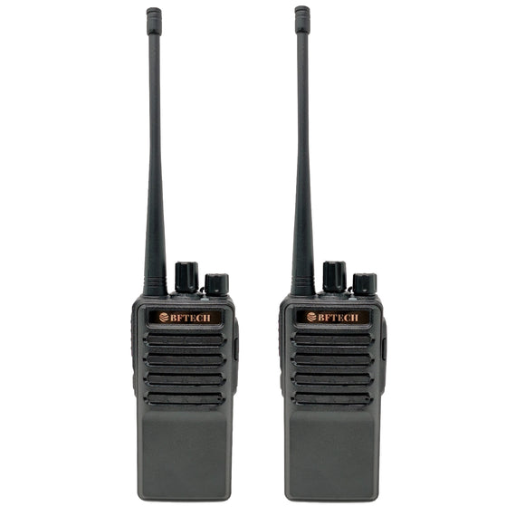 BFTECH BF-V8S Walkie Talkie Rechargeable 16 Channel Handheld Two Way Radios IC Certified:25769-BFV8S (2 Pack)