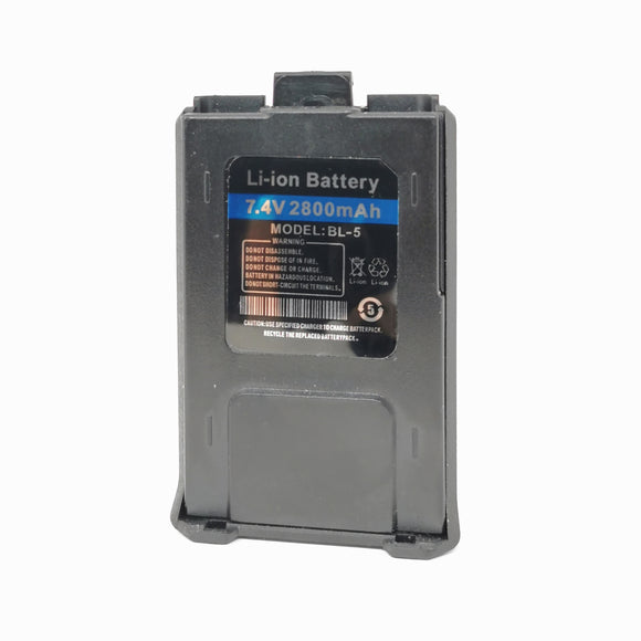 BFTECH ORIGINAL BL-5 2800MAH LI-ION BATTERY FOR BF-F8RT AND BF-F8HP,UV-5R SERIES