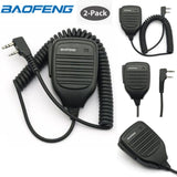 Baofeng Original Accessories Speaker Mic for Baofeng BF-F8HP BF-888S UV-5R UV-5RA UV-5RB UV-5RC UV-5RE (2-PACK)