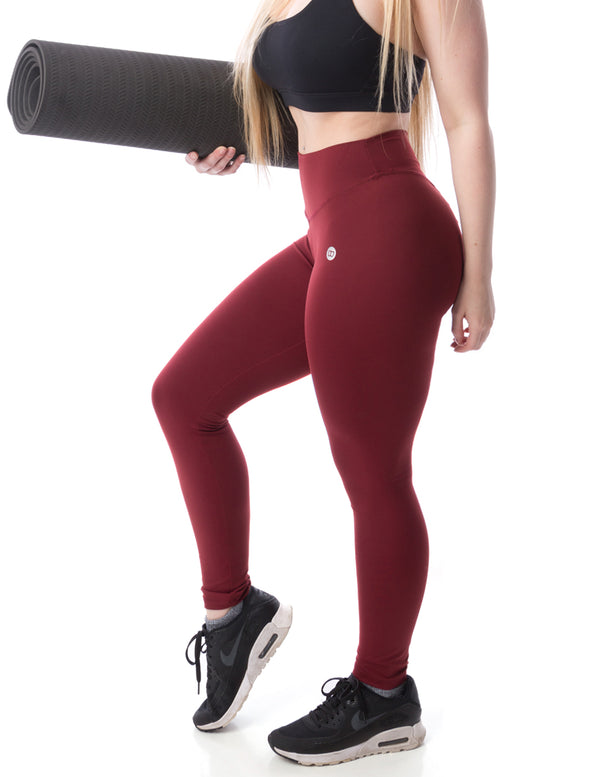 Aria Leggings - Burgundy