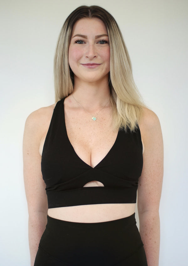 Ella Sports Bra - Black