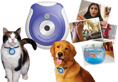Digital Pet Eye View Camera Monitor for Dog Cat eye view 0.3 Megapixel