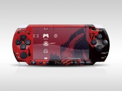 New Stock PSP 3000 Skin Decals Gears of War with skins application kit