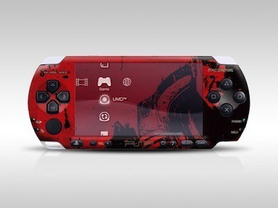 New Stock PSP 3000 Skin Decals Gears of War 2