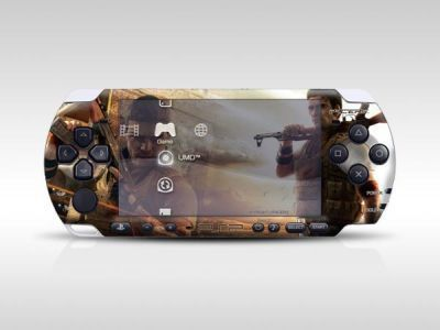 New Stock PSP 3000 Skin Decals The Punisher with skins application kit