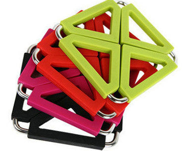 Foldable Silicone rubber pot holder