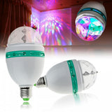 3W Indoor Rotating LED Bulb Party Disco Light