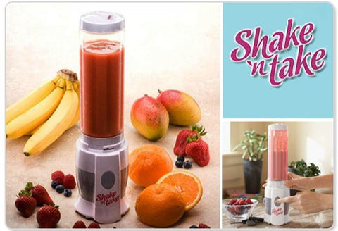Shake N Take Sports Bottle Blender mini juicer