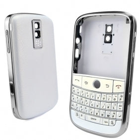 Replacement shell for use with Blackberry Bold 9000 housing faceplate cover skin white with tools