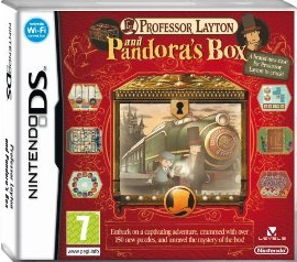 Professor Layton and Pandora's Box for Nintendo DS NDS