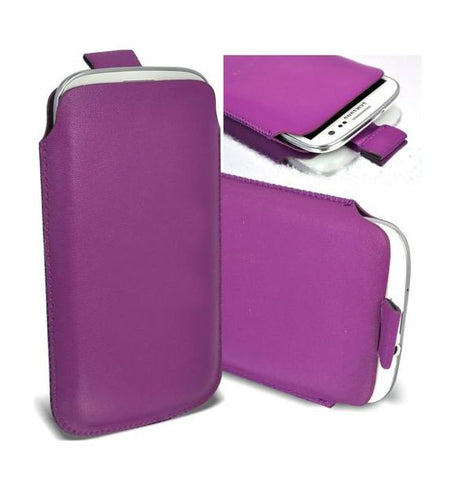 Pull Tab Leather Case Cover Pouch For Samsung Galaxy S3 I9300