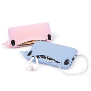 3D Cute Whale Silicone Soft Case Cover Back Skin Protector For Apple iPhone 5 5S