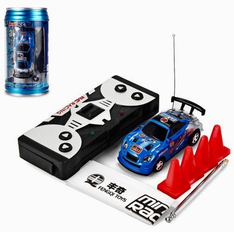 POP CAN Cola Mini 1/63 Tin RC Radio Controlled Toy CARS