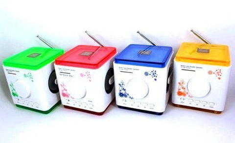 Mini Speaker With Color Light ibox D60