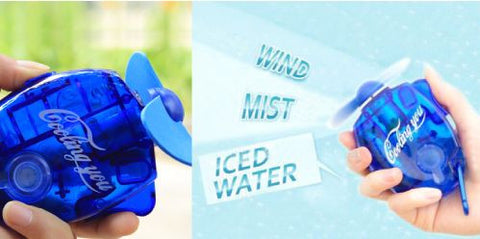 Water Spray Fan Brand New Portable Fashion Mini Spray Fan Water mist fan