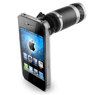 6 X Zoom Lens Camera Telescope for iPhone 5