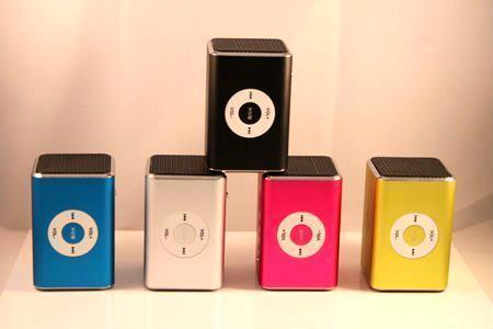 Portable Mini Speaker with Micro SD Card Reader