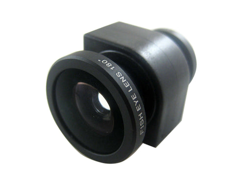 3 in 1 Fish Eye & Wide Angle & Macro Lens for iPhone 4S 4