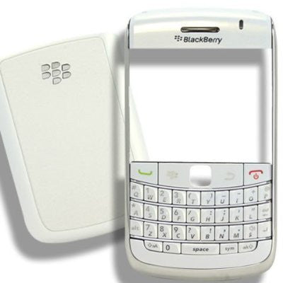 Replacement shell for use with Blackberry Bold 9700 and 9780 Cover Housing Faceplate Set White + Tools