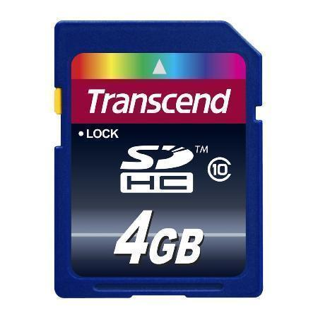 4 GB Transcend SD Card
