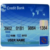 Credit Card 2GB USB Flash Memory Stick