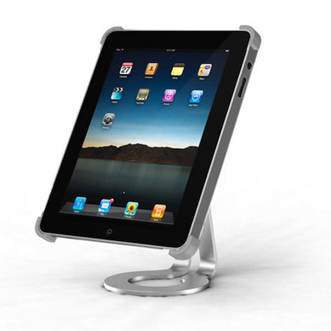 Aluminium Desktop Stand for Apple iPad and Ipad 2 / 3 Stand Silver Holder