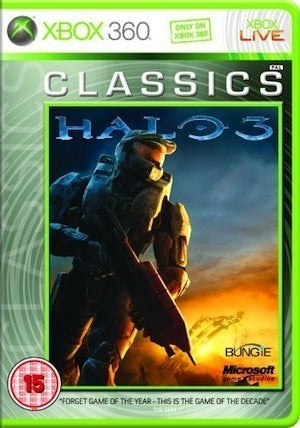 Xbox 360 Halo 3 Classics Edition Game U.K PAL