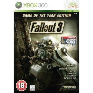 Fallout 3 Game of the Year Xbox Game U.K PAL