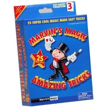 Marvin's Amazing Magic Tricks Assortment STEP 1, STEP 2, STEP 3