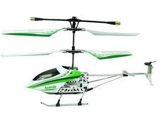 3 channel RC Helicopter Green