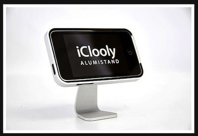 iClooly Swivel Desktop Alumi Stand For Apple iPhone 3G 3GS