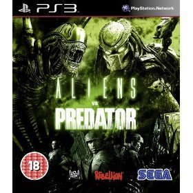 PS3 Aliens Vs Predator Playstation 3 Game U.K PAL