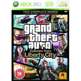Xbox 360 GTA Episodes from Liberty City Grand Theft Auto Game U.K PAL