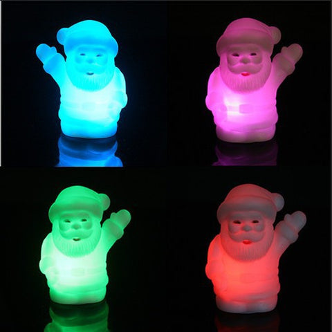 7 Colour Christmas Theme Night Light Holiday Decoration Lamp