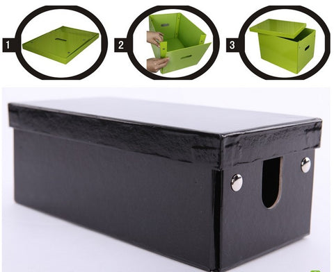 Foldable Large capacity high quality cord organizer box