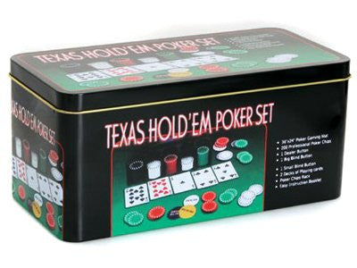 TEXAS HOLD EM Pocker Set