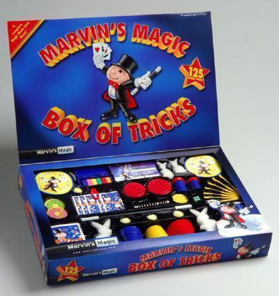 Marvin's Magic Box Of Tricks 125 Magic Tricks