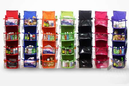 Multifunctional hanging organizer