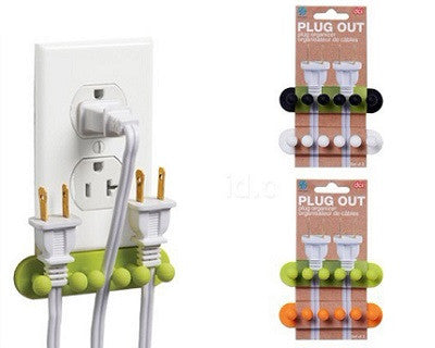 Set of 5 Multifunctional Plug Arranger