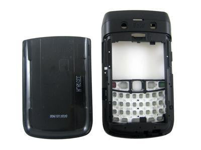 Replacement shell for use with Blackberry Bold 9700 and 9780 Black Cover Housing Faceplate Set + Tools