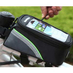 Waterproof Cycling Bike Bicycle Front Frame Pannier Tube Bag For Mobile Phone UK