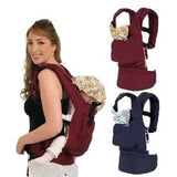 Cotton Front & Back Newborn Baby Carrier Infant Backpack Sling Wrap
