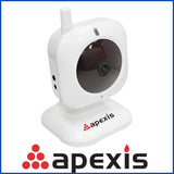 Wireless IP Camera APEXIS White