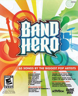 Band Hero Solus (Wii)