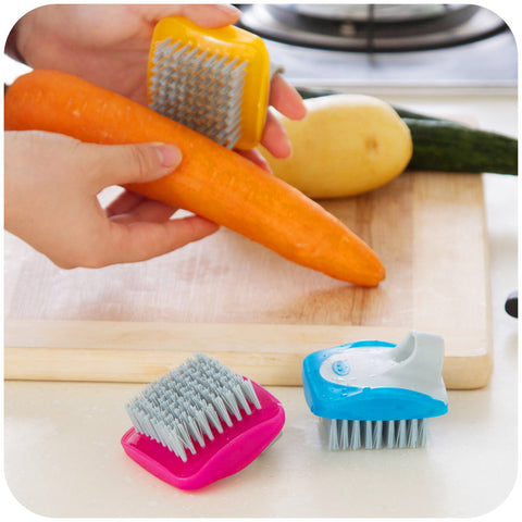 Mini Fruit Vegetable Brush Kitchen Cleaning Tool