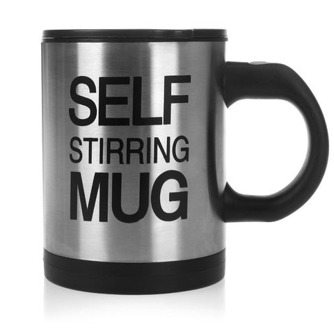 Self Stirring Mug Cup with lid