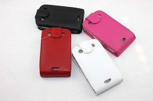 Flip Leather Cover Case for Blackberry 9900