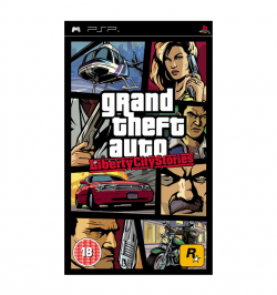 PSP Grand Theft Auto Liberty City Stories Game