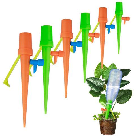 Self Watering Plant Spikes Vacation Plant Waterer set of 4